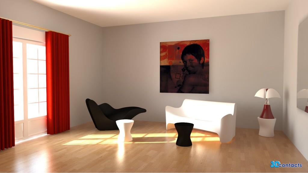 3d contacts salon design meubles de tokujin yoshioka - Lampes de salon design ...